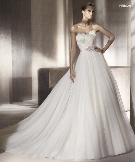Pronovias abito da sposa Primor da collezione Manuel Mota 2012