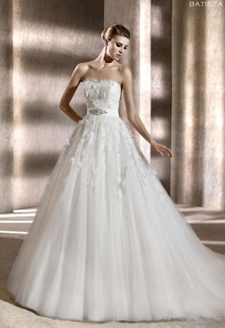 Pronovias abito da sposa Batista collezione 2012