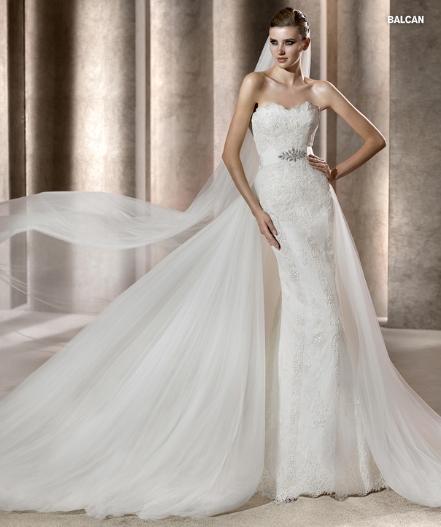 Pronovias abito da sposa Balcan da collezione Costura 2012