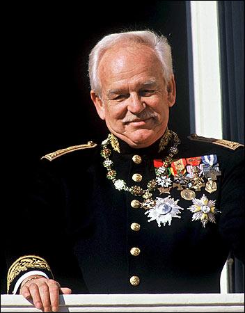 Il Principe Ranieri III di Monaco