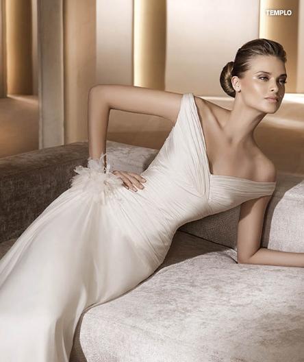 Pronovias abito da sposa Templo da collezione Costura 2011