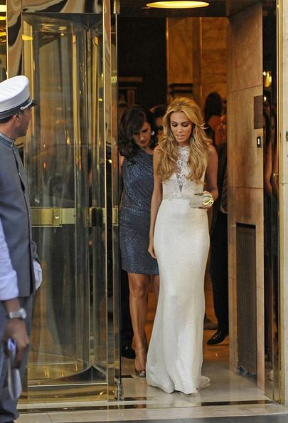 Petra Ecclestone a festa pre nuziale Hotel Hassler Roma