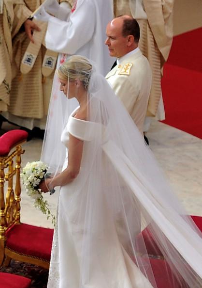 Alberto e Charlene in Monaco nozze - Getty Images