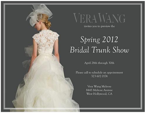 Preview Vera Wang sposa Spring 2012