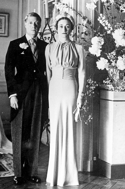 abito da sposa Wallis Simpson 1937