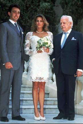 Nozze Stephanie di Monaco con Daniel Ducruet da vanityfair.it