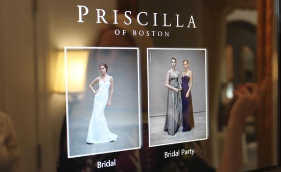 Vetrina negozio Priscilla of Boston - Foto da geeksugar.com