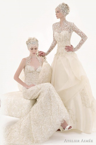 abiti da sposa Modello Grace Kelly Atelier Aimèe