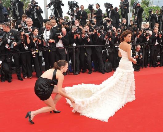 Eva Longoria in Emilio Pucci al Festival del Cinema di Cannes 2010