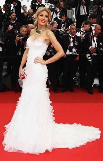Hofit Golan in Alberta Ferretti Forever al Festival del Cinema di Cannes 2011