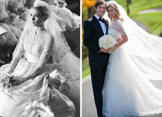 Nozze Ivanka Trump con Jared Kushner - Foto da celebrityweddingbuzz.com