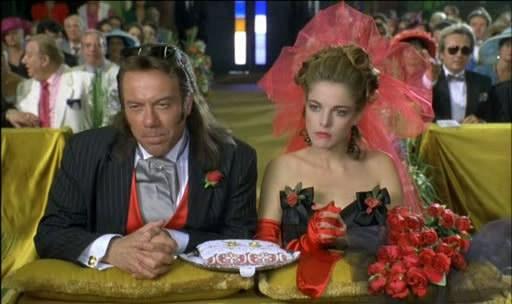 """Carlo Verdone Claudia Gerini in """"Viaggi di nozze"""", 1995"""