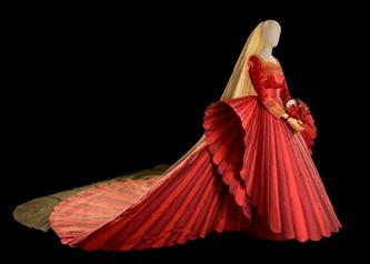 La Sposa in Rosso di Roberto Capucci 2009 - Foto di Claudia Primangeli