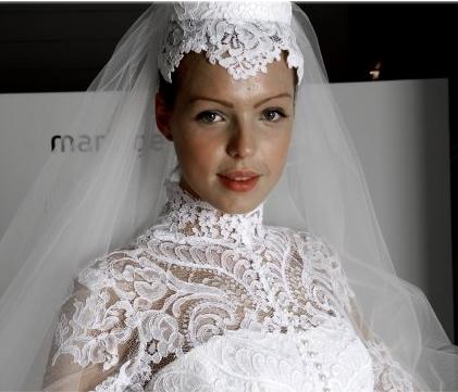 Abito da sposa Grace Kelly da Mariage Haute Couture