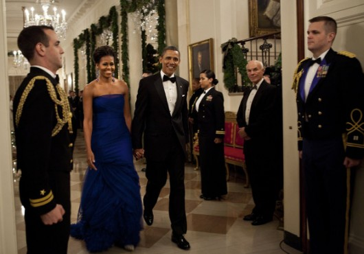 Michelle Obama in Vera Wang a Kennedy Center Honors - Foto Getty