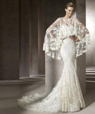 abito da sposa Pronovias Erika collezione Manuel Mota 2012