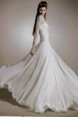 abito da sposa Concha di Raimon Bundo'