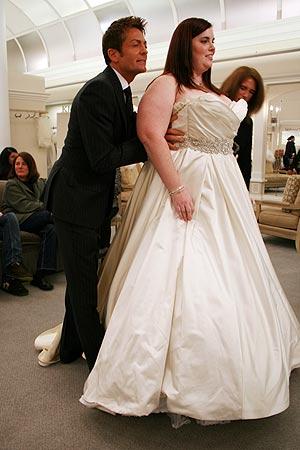 Randy Fenoli consiglia sposa over size