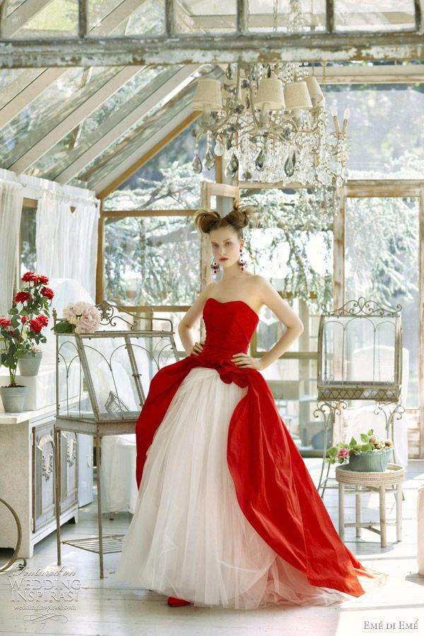 Favorito L'abito da sposa rosso: dalla tradizione alla passione PS59