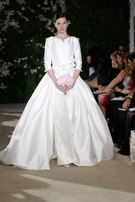 Carolina Herrera collezione sposa Primavera 2012