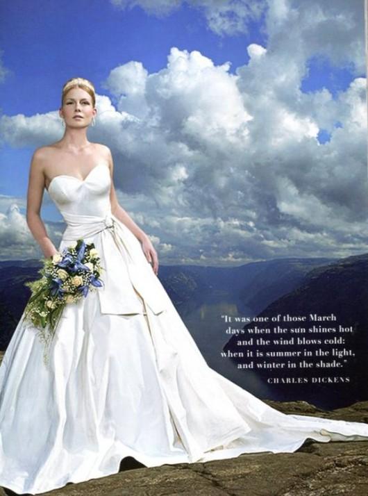 Abito da sposa Oleg Cassini