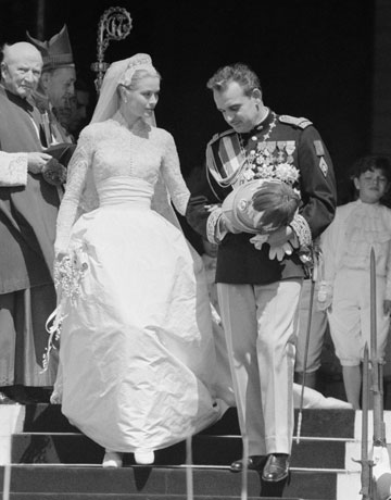 Grace Kelly sposa - Foto da juliapgelardi.wordpress.com