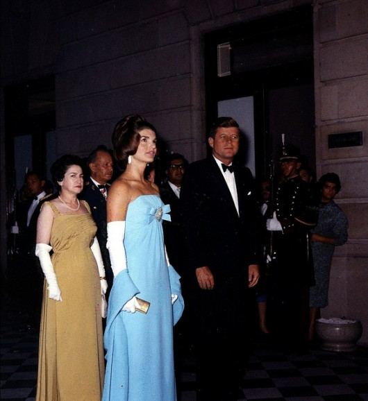 Jackie Kennedy in Cassini