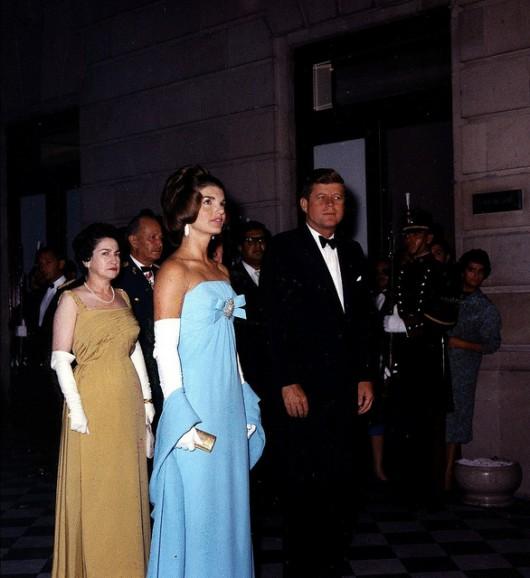 Jackie Kennedy in Cassini