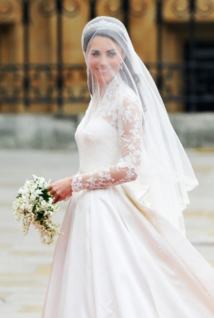 Kate Middleton sposa - Vogue