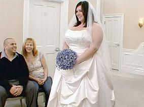 Sposa king size da Kleinfeld