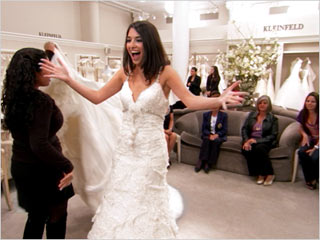Sposa felice da Kleinfeld