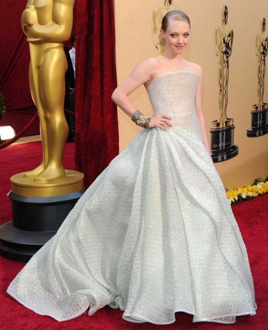 Amanda Seyfried agli Oscar 2010 - Foto Getty