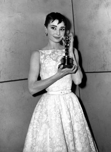 Audrey Hepburn agli Oscar 1954