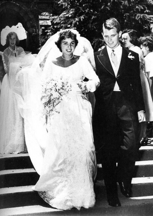 Nozze tra  Robert Kennedy e Ethel Skake - Foto AP