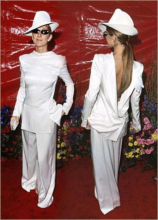 Celine Dion agli Oscar 1999