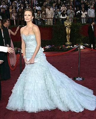 Charlize Theron agli Oscar 2005