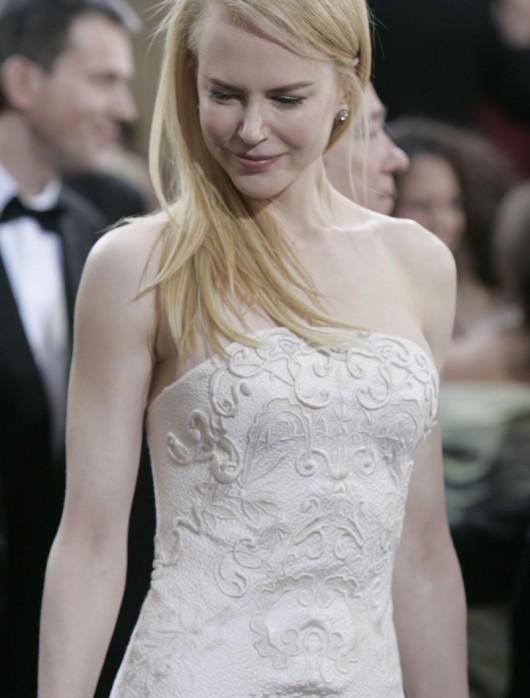 Dettaglio abito Nicole Kidman agli Oscar 2006