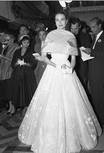 Grace Kelly agli Oscar 1956
