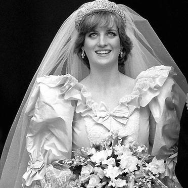 Lady Diana sposa