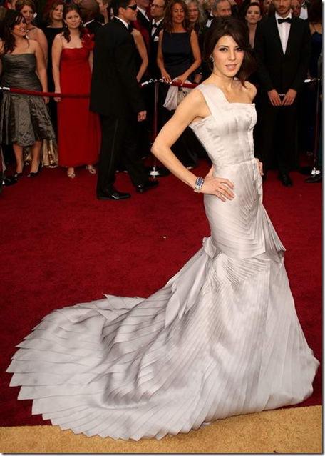 Marisa Tomei agli Oscar 2009