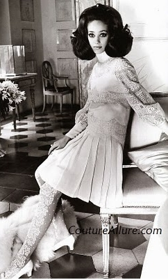 Modello Valentino abito sposa Jackie Onassis - Foto da Couture Allure Vintage Fashion