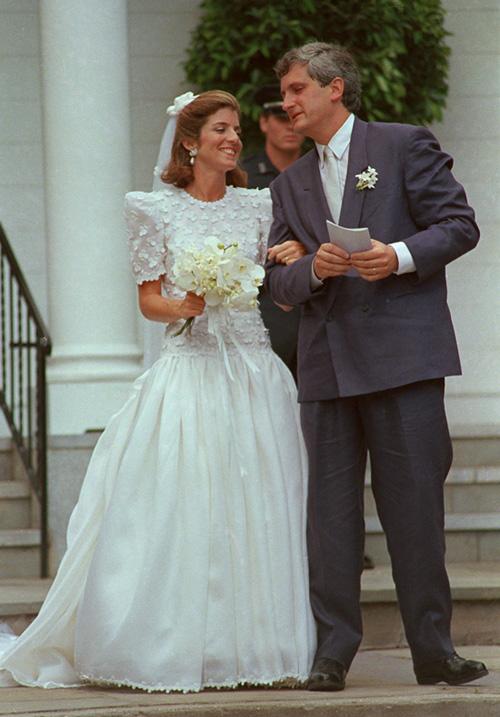 Nozze Caroline Kennedy con Edwin Schlossberg