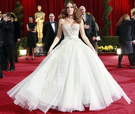Sarah Jessica Parker in Dior agli Oscar 2009