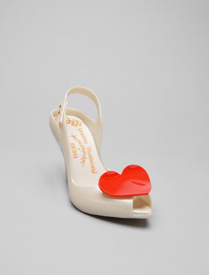 Scarpe Melissa for Vivienne Westwood in vendita a 149 dollari