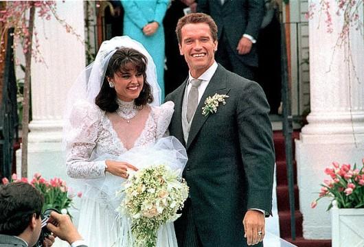 Nozze Maria Shriver-Arnold Schwarzenegger - Foto ufficiale AP
