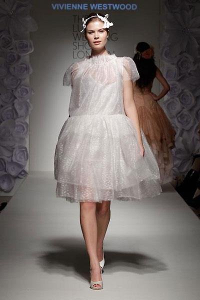 Abito da sposa corto Vivienne Westwood 2012