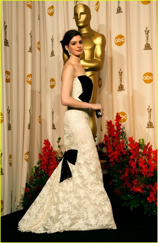 Anne Hathaway agli Oscar 2007