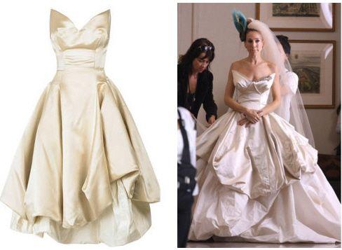 replica carrie-bradshaw-vivienne-westwood-wedding-dress-sex-and-the-city netaporter.com