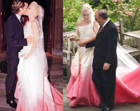 Gwen Stefani in abito da sposa John Galliano