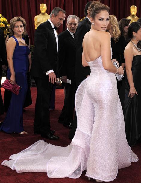 Jennifer Lopez agli Oscar 2010